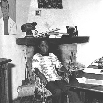 The Day I met James Baldwin at Harvard