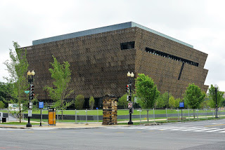 The National Museum of African American History in Washington D.C.