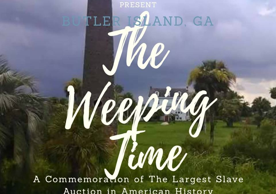 Commemorating the Enslaved of The Weeping Time and A Radio Interview