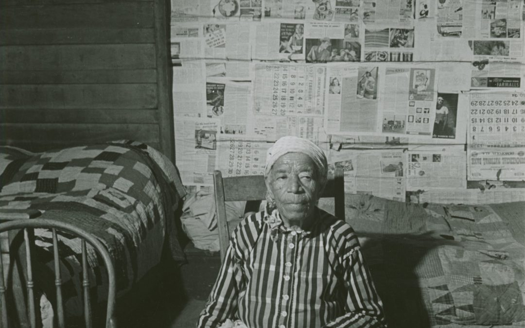 Ex slave who did not receive reparations, 1941 NY Public Library photo, public domain